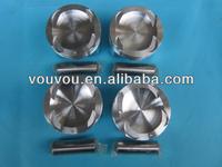 engine piston & ring set for mazda 323 family 1.6 displacement OEM:ZMY0-11-SB0