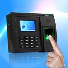 fingerprint reader punch card attendance machine