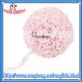 """9.84"""" flor artificial decorativa rosa bolas"""