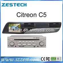 ZESTECH In Car Multimedia gps system dvd usb sd ipod for Citroen C5