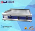 Restaurante de cozinha equipamentos de gás griddle máquina/grill/griddle/gás griddle/teppanyaki/panini( 5 dias de entrega)