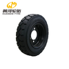 Polyurethane filling forklift tyre for port & coal mining & industry workshop & warehouse & station