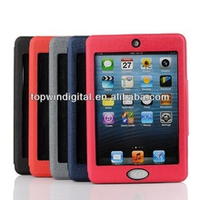 Newest Standing Flip Leather Case For ipad mini 2 retina