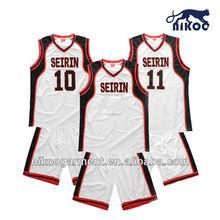 Custom Sublimated used basketball uniform design