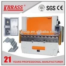 WC67K hydraulic metal plate cnc press brake , E21S automatic sheet bending machine , Copper bending machine