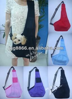 Cheap wholesale original black attractive use light mesh Sling carrier pet bag Wide selection for summer wear
