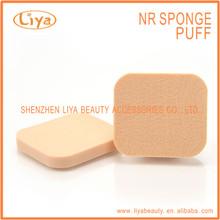 New skin design cosmetic facial latex sponge