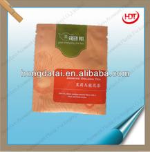 2014 hot sale tea bags with tear notch for jasmin oolong tea