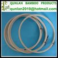 3-12 pulgadas de bambú mano aros de bordado