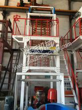 SJ-B rotary die double winder plastic film blowing machine price