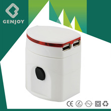 2014 Promotion Gift UK to Europe Travel Adapter With CE FCC ROHS