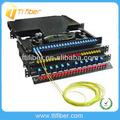 de fibra óptica 19 pulgadas 1u 24 puertos para montaje en rack odf