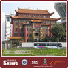 roof tile manufacturer in naples florida with Chinese classical style building