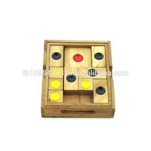 "Khun Phaen Wooden Puzzle (4.7"")"