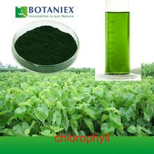 De hoja de morera extracto de clorofila en polvo soluble en el aceite de clorofila de cobre 15% clorofila