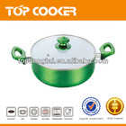2014 new product aluminium pots with induction