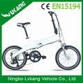 Dobrável 20 polegada comprar bicicleta elétrica com 250 W motor e frame da liga