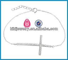 the paris fashion tv show latest design wholesale sideway cross bracelet crosses for to make bracelets