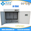 Top selling automatic ce incubator AI-1584 chicken feeders use families family