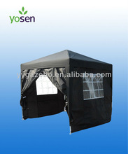 2.5m x2.5m Folding metal gazebo 4pcs sidewalls