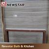 Grey wood grain cultured marble slab price