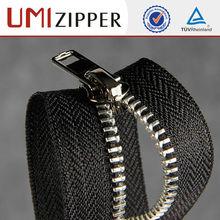 locking slider hot sale product and multi-color zipper with semi auto lock slider