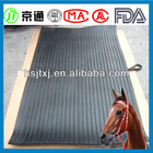 horse cow stable rubber matting for sale in China