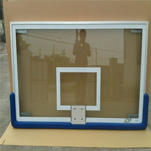 Rectangular fully tempered plate glass backboard at wholesale price