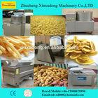 potato crisps making machine peeler cutter fryer packer