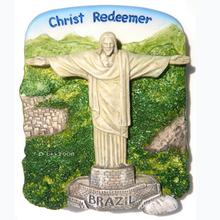 Christ Redeemer,Brazil Wholesale Resin Custom 3D Fridge Magnet