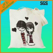 handmade canvas cotton tote bag