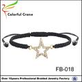 2015 nouveau mode de cristal étoile de david bijoux bracelet en gros vente chaude