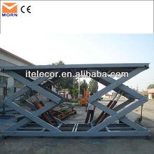 3m high 5t capacity vertical car lift outdoor