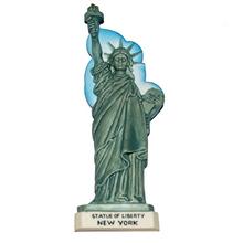 nueva york estatua de la libertad al por mayor personalizar imán de nevera