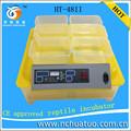 Casa utile mini pollo incubatore per la vendita completamente automatico computer di controllo incubatore libero ht-48ii pezzi di ricambio