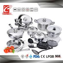 dinner set square fry pan lid cooking pot CYCS527B-1B