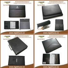 a4 dongguan pu folder with memo pad /pen set /ruler