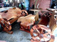 Sofa Wood Set
