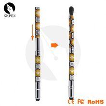 spin pen novelty promotional flower pen