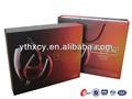 personalizado de vino de cartón cajas de vidrio
