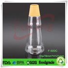 pet plastic drinking bottle/smoothie bottle/ Beverage Bottle 500ml