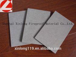 Asbestos free fiber cement board 10mm for ceiling ,density 1.5g/cm3