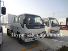 4x2 van cargo box lorry truck 3-5 tons ISUZU cargo light truck