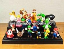 "Super Mario Bros Figure Toy 18pcs Doll 1-3"" Action Figure by SUN-U"