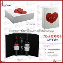 Hand Made PU Leather Small Palm Wine Box