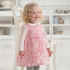 DB467 dave bella 2014 spring fashion princess toddler dress baby clothes infant dress baby girl floral baby wedding dress