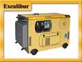 10kw de sonido a prueba de generador diesel refrigerado por aire S10000DS