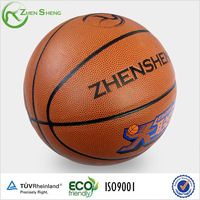 leather basketball ball