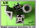alta qualidade de acabamento de fábrica de extrusão de alumínio perfil manufactory