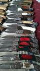 Damascus Folding Knife old fashion